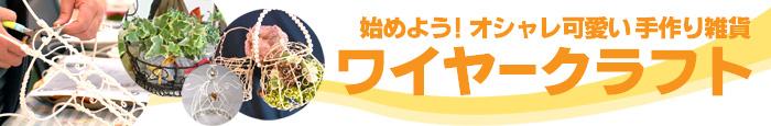 """神奈川県茅ヶ崎市 ワイヤークラフト""""専門サイト「wirecraft」が出来ました"""